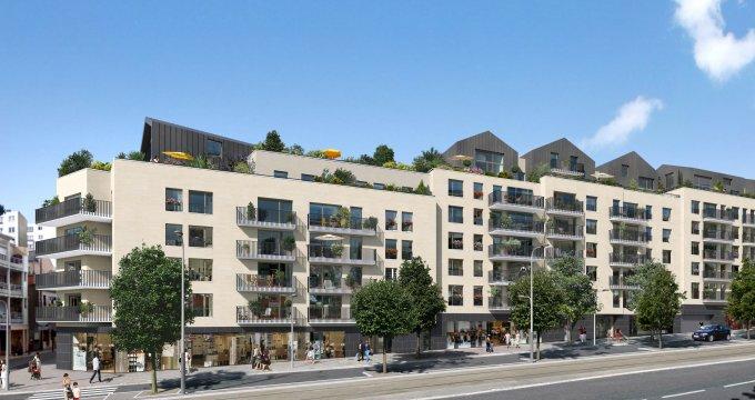 Achat / Vente programme immobilier neuf Châtillon coeur de ville (92320) - Réf. 1390