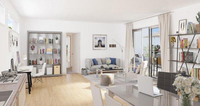 Achat / Vente programme immobilier neuf Châtillon proche ligne de tramway T6 (92320) - Réf. 5418