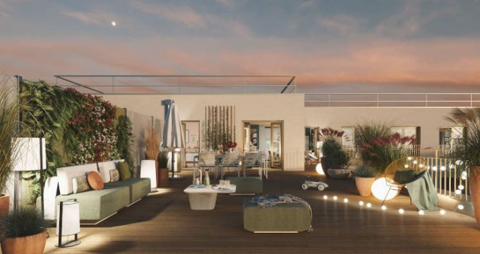 Achat / Vente programme immobilier neuf Clichy bords de Seine proche commerces (92110) - Réf. 4800