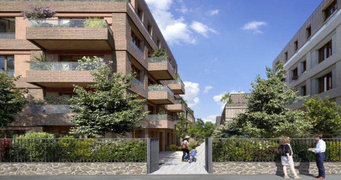 Achat / Vente programme immobilier neuf Colombes à moins de 10 min du transilien J (92700) - Réf. 5809
