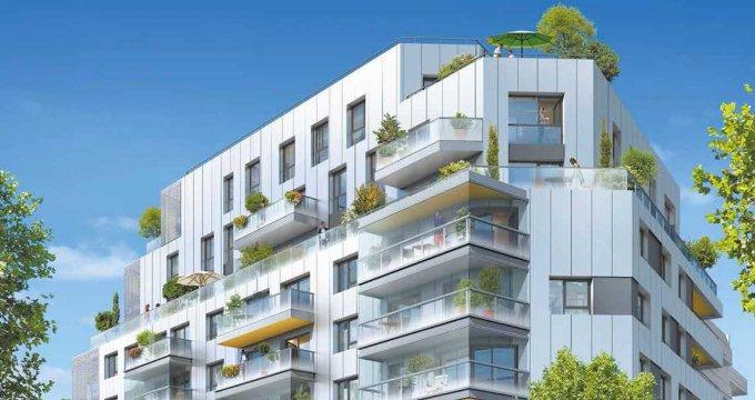Achat / Vente programme immobilier neuf Issy-les-Moulineaux proche du 15e arrondissement (92130) - Réf. 2416