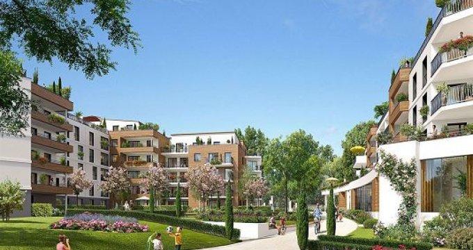 Achat / Vente programme immobilier neuf Le Plessis Robinson proche forêt (92350) - Réf. 1535
