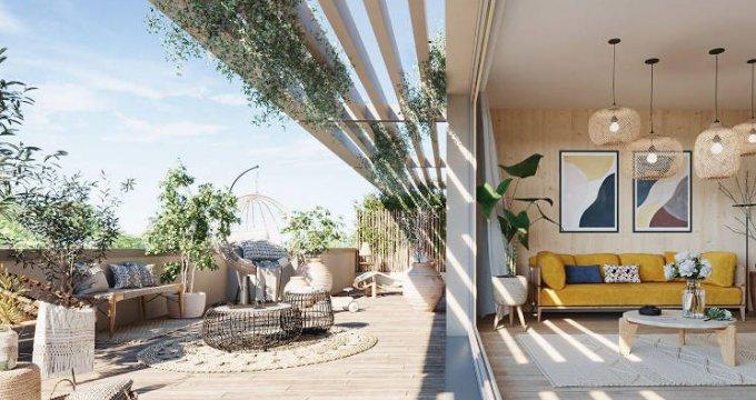 Achat / Vente programme immobilier neuf Meudon écoquartier Pointe Trivaux (92190) - Réf. 4843