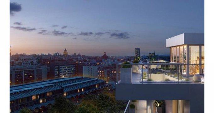 Achat / Vente programme immobilier neuf Paris 13è arrondissement face à la Bibliothèque Nationale (75013) - Réf. 2935