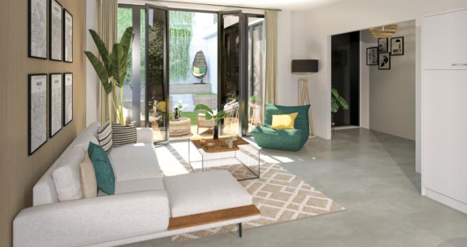 Achat / Vente programme immobilier neuf Paris 14e proche porte d'Orléans (75014) - Réf. 5242