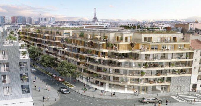 Achat / Vente programme immobilier neuf Paris 15 à deux pas des commodités (75015) - Réf. 4621