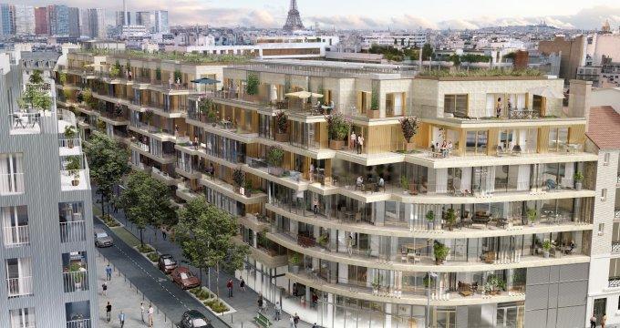 Achat / Vente programme immobilier neuf Paris 15 à deux pas des commodités (75015) - Réf. 4164