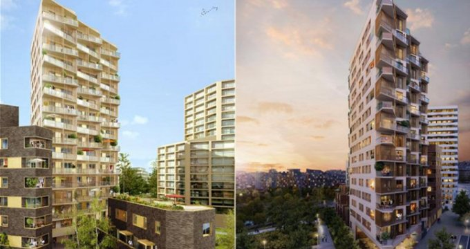 Achat / Vente programme immobilier neuf Paris 17 quartier Clichy Batignolles (75017) - Réf. 1110