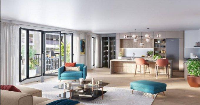 Achat / Vente programme immobilier neuf Paris 19 au pied du métro 11 (75019) - Réf. 5420