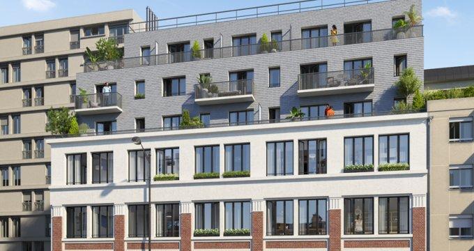 Achat / Vente programme immobilier neuf Paris 20 proche cimetière du Père-Lachaise (75020) - Réf. 3005
