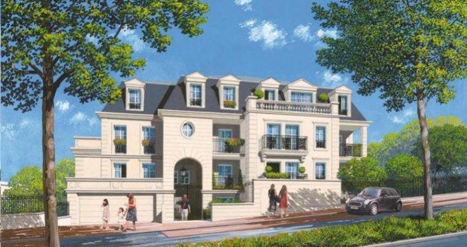 Achat / Vente programme immobilier neuf Plessis-Robinson proche centre-ville (92350) - Réf. 1943