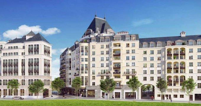 Achat / Vente programme immobilier neuf Puteaux au cœur du quartier des Bergères (92800) - Réf. 3846