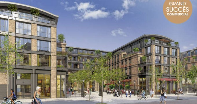 Achat / Vente programme immobilier neuf Puteaux nouveau quartier en bord de Seine (92800) - Réf. 2015