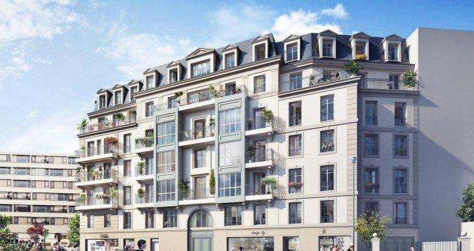 Achat / Vente programme immobilier neuf Puteaux proche métro et tramway (92800) - Réf. 6183