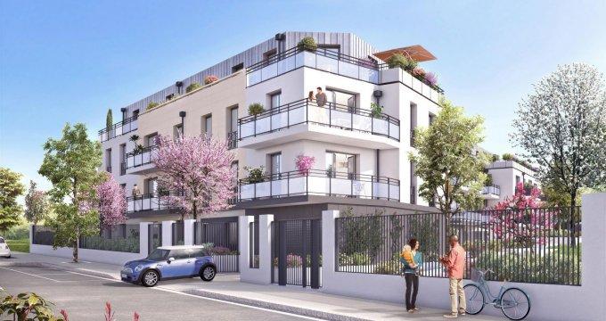 Achat / Vente programme immobilier neuf Rueil-Malmaison proche forêt domaniale (92500) - Réf. 288
