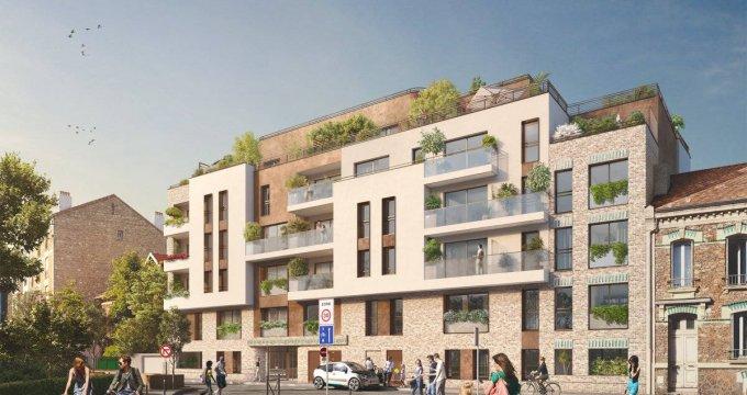 Achat / Vente programme immobilier neuf Vanves coeur quartier Lycée Michelet (92170) - Réf. 6253