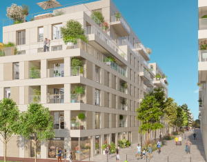 Achat / Vente programme immobilier neuf Clichy proche RER C (92110) - Réf. 3343