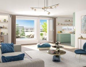 Achat / Vente programme immobilier neuf Issy-les-Moulineaux quartier résidentiel proche commodités (92130) - Réf. 4238