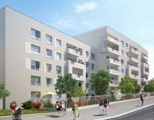 Achat / Vente programme immobilier neuf Nanterre proche porte de Paris (92000) - Réf. 1878