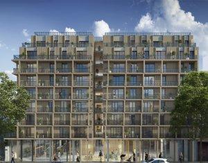 Achat / Vente programme immobilier neuf Paris 13 Station Bibliothèque François Mitterrand (75013) - Réf. 2936