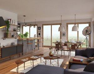 """Achat / Vente programme immobilier neuf Paris 18 nouveau quartier """"Chapelle International"""" (75018) - Réf. 3800"""