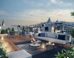 Achat / Vente programme immobilier neuf Paris 18e au coeur du quartier Jules Joffrin (75018) - Réf. 6340
