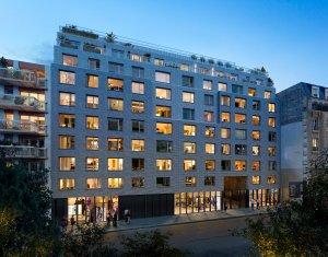 Achat / Vente programme immobilier neuf Paris 19e métro Porte de Pantin (75019) - Réf. 3529