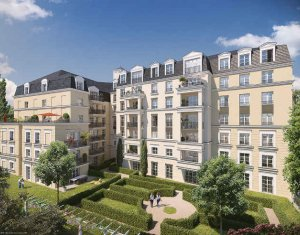 Achat / Vente programme immobilier neuf Plessis-Robinson proche parc Henri-Sellier (92350) - Réf. 4107
