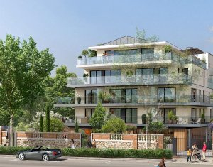 Achat / Vente programme immobilier neuf Saint-Cloud face au jardin des Avelines (92210) - Réf. 2152