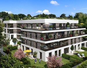 Achat / Vente programme immobilier neuf Saint-Cloud proche gare Le Val d'Or (92210) - Réf. 704