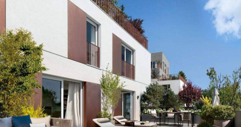 Achat / Vente programme immobilier neuf Antony au cœur du quartier Jean Zay (92160) - Réf. 3189