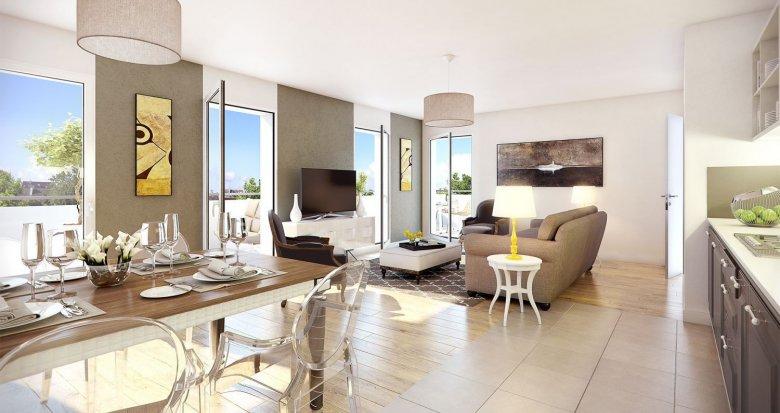 Achat / Vente programme immobilier neuf Antony proche Parc de Sceaux (92160) - Réf. 461