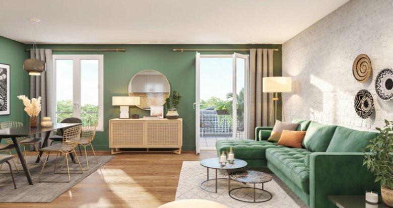 Achat / Vente programme immobilier neuf Antony quartier Bois de l'Aurore (92160) - Réf. 5432