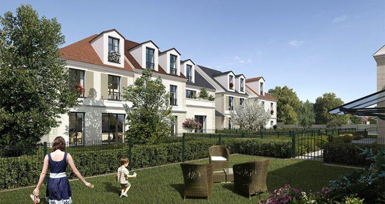 Achat / Vente programme immobilier neuf Antony secteur Bois de Verrières (92160) - Réf. 2976