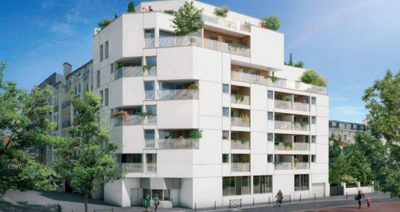 Achat / Vente programme immobilier neuf Asnières-sur-Seine à 150 mètres station de métro « Gabriel Péri » (92600) - Réf. 3555