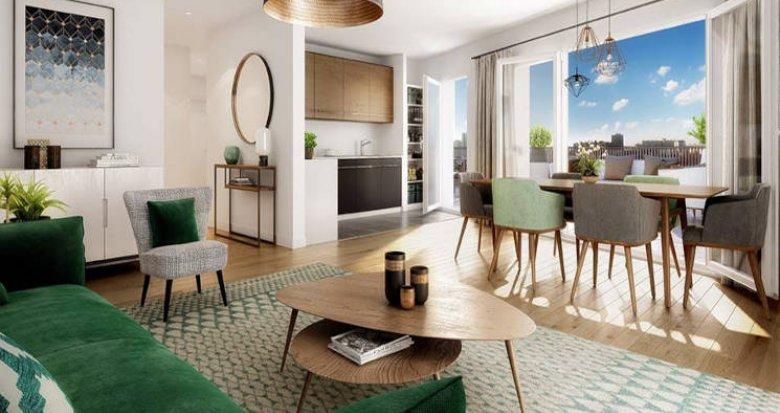 Achat / Vente programme immobilier neuf Asnières-sur-Seine à deux pas du métro 13 (92600) - Réf. 5769