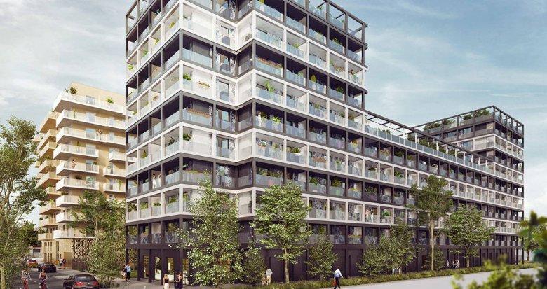Achat / Vente programme immobilier neuf Asnières-sur-Seine éco quartier Seine-Ouest (92600) - Réf. 6130