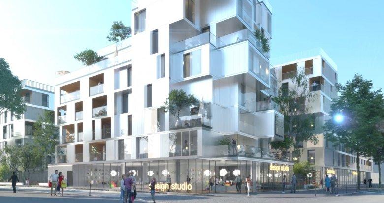 Achat / Vente programme immobilier neuf Asnières-sur-Seine proche du métro 13 (92600) - Réf. 2827