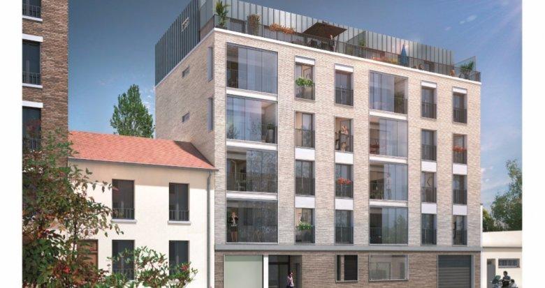 Achat / Vente programme immobilier neuf Asnières-sur-Seine proche quais de Seine (92600) - Réf. 1255