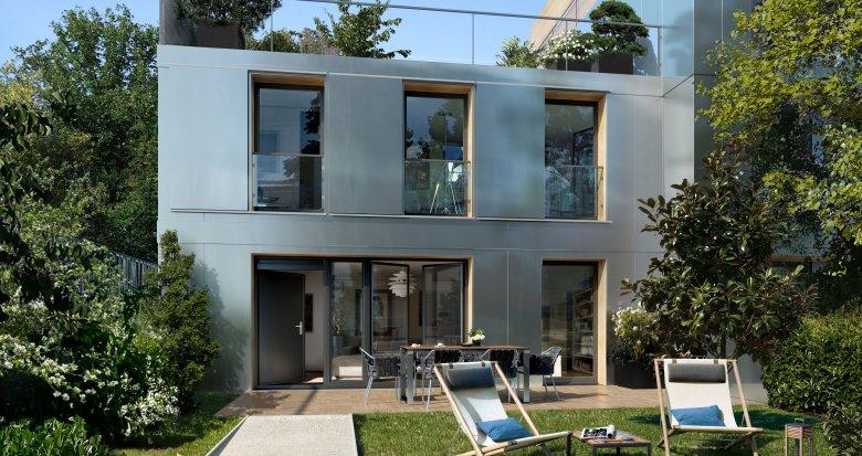 Achat / Vente programme immobilier neuf Asnières-sur-Seine proche station de métro ligne 13 (92600) - Réf. 3375
