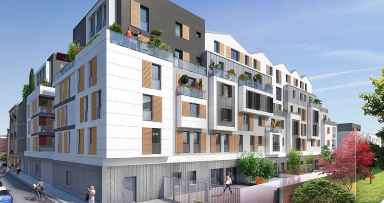 Achat / Vente programme immobilier neuf Bois-Colombes proche Paris (92270) - Réf. 1813
