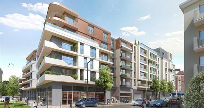 Achat / Vente programme immobilier neuf Bois-Colomes proche futur tramway T1 (92270) - Réf. 1265