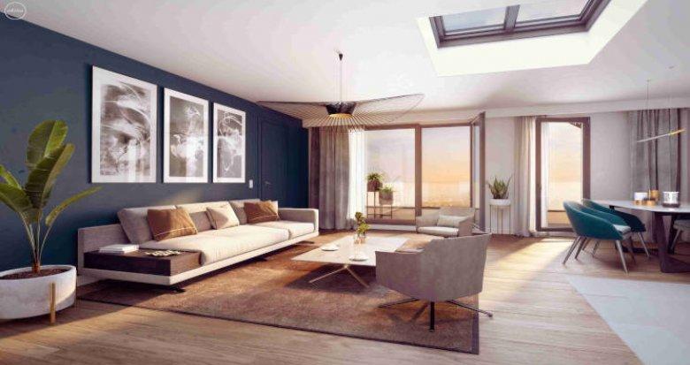 Achat / Vente programme immobilier neuf Châtenay-Malabry face au parc de Sceaux (92290) - Réf. 3190