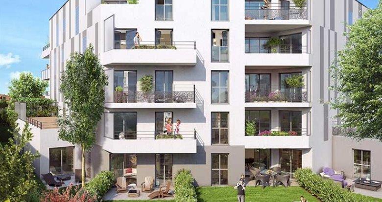 Achat / Vente programme immobilier neuf Châtenay-Malabry limitrophe parc de Sceaux (92290) - Réf. 2480