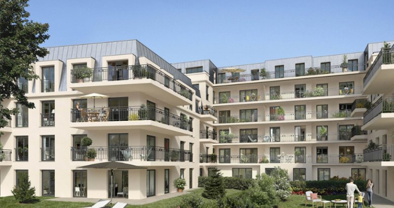 Achat / Vente programme immobilier neuf Châtenay-Malabry proche centre commercial du parc des Sceaux (92290) - Réf. 2842