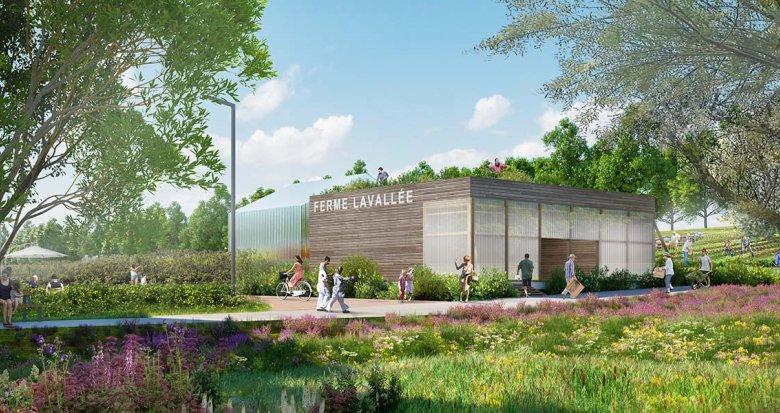Achat / Vente programme immobilier neuf Châtenay-Malabry proche centre et parc de Sceaux (92290) - Réf. 3138