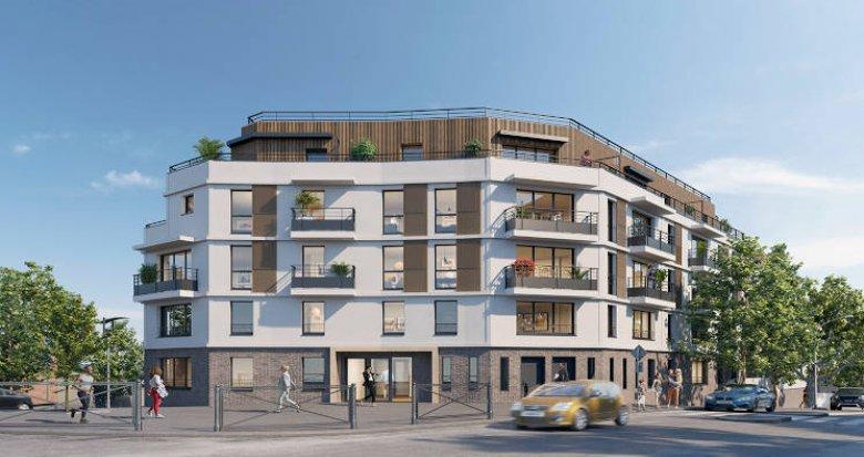 Achat / Vente programme immobilier neuf Châtillon proche parc et commodités (92320) - Réf. 4233