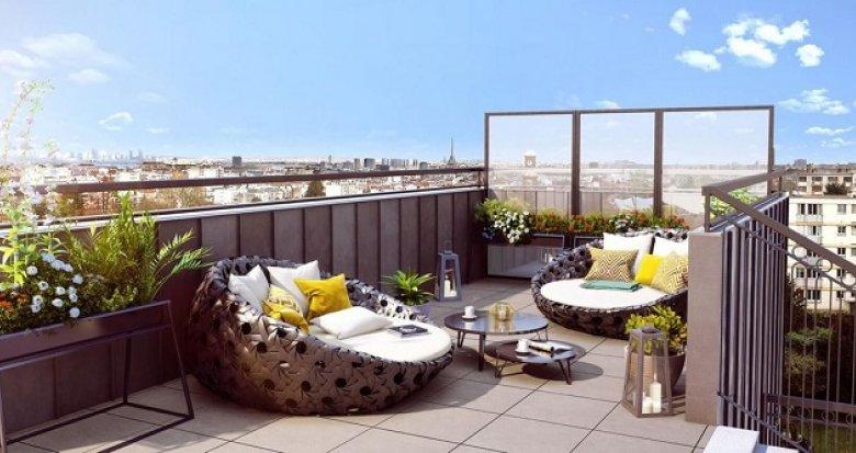 Achat / Vente programme immobilier neuf Clamart à 150 mètres du centre-ville (92140) - Réf. 2485