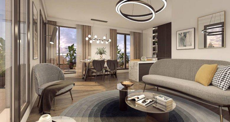 Achat / Vente programme immobilier neuf Clamart au coeur du quartier Grand Canal (92140) - Réf. 6019
