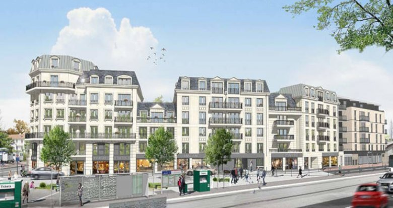 Achat / Vente programme immobilier neuf Clamart face tramway T6 (92140) - Réf. 2755